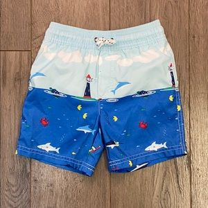 Carters Toddler Boys Mesh-Lined Board Shorts